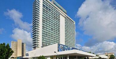 Vista exterior del Hotel Tryp Habana Libre