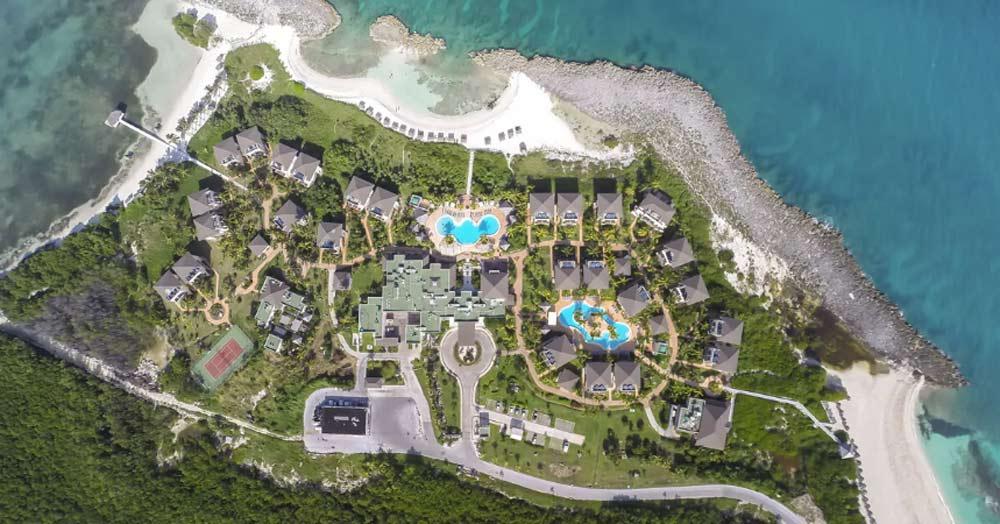 vista aerea hotel melia buenavista cuba